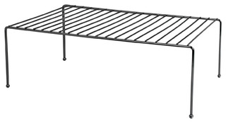 Home Basics Black Onyx Helper Shelf