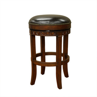Portofino 30 quot Bar Stool Suede and Merlot