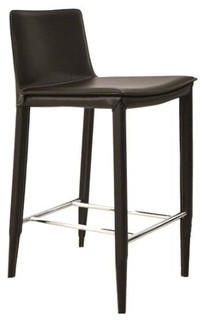 Stool w Upholstered Seat Counter Seat 25 in 18 5 L x 16 W x 34 H