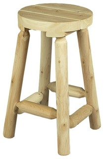 24 Bar Stool Natural