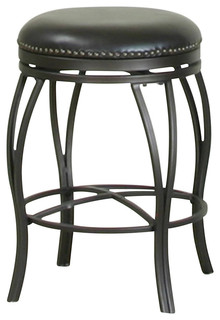 24 quot Victoria Backless Swivel Barstool