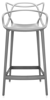 Kartell Masters Stool Gray H 39 quot