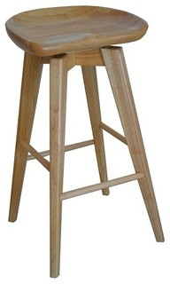 Dune Bali Swivel Bar Stool Natural
