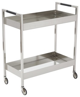Wilshire Stainless Cart Brushed Nickel