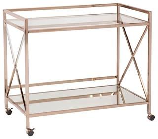 Maxton Bar Cart Metallic Gold
