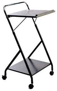 Dandy Workstation Trolley Black