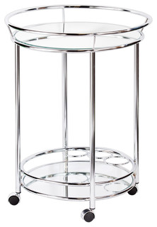 Wendell Bar Cart Chrome