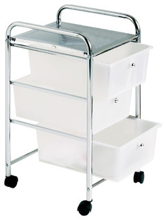 3 Tray Kitchen Trolley