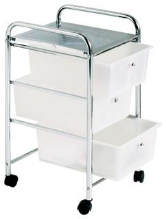 3 Tray Kitchen Trolley
