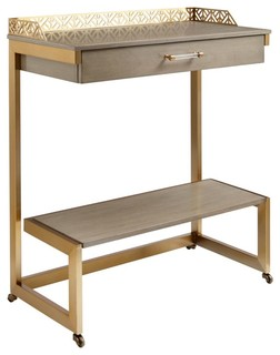 Stanley Coastal Living Oasis Catalina Bar Cart Gray Birch 527 61 08