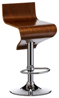 Silvia Bar Stool Walnut