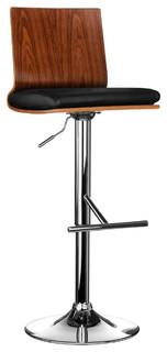 Walnut Bar Chair