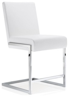 Eliana Stool White Counter Seat Height 24 quot