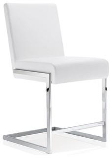 Eliana Stool White Counter Seat Height 24 quot