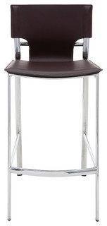 Lisbon Stool Brown Counter Height