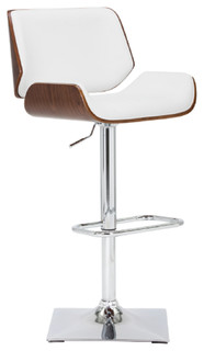 Adjustable Barstool White