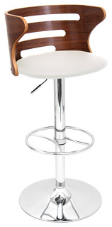 Cosi Stool Walnut Cream