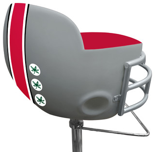 NCAA Ohio State University Football Helmet Barstool