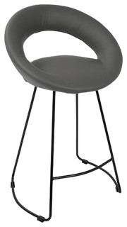 Posano Contemporary Counter Stool Gray