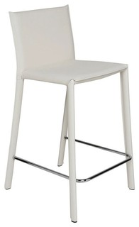 Bridget Stool White Counter Height