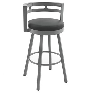 Render Swivel Metal Stool Counter Height
