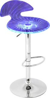 Spyra Light Up and Height Adjustable Bar Stool Multi
