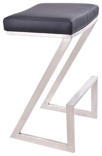 Ace Backless Stool Black Counter Height