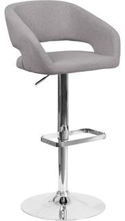 Flash Furniture Adjustable Barstool Gray CH 122070 GYFAB GG