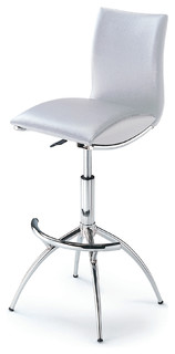 Bar Stools With Adjustable Seat Height Set of 2