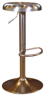 Amerihome Loft Stainless Steel Bar Stool