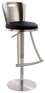 Rhia Metal Back Adjustable Stool