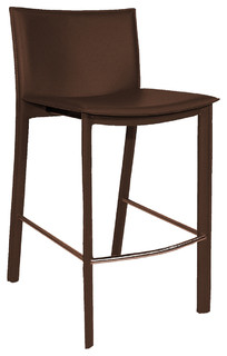 Panca Counter Stool Dark Brown