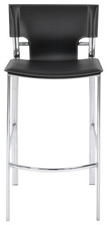 Venice Leather 25 Counter Stool Set of 2