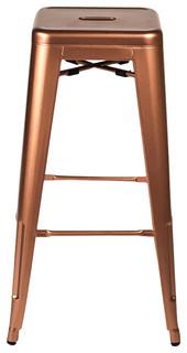 Bastille Bar Stools Set of 2 Copper