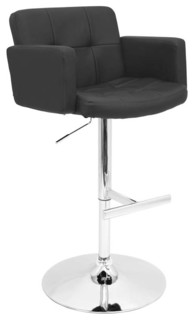 Stout Bar Stool Black
