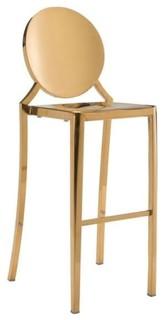 Radford Bar Chair Gold