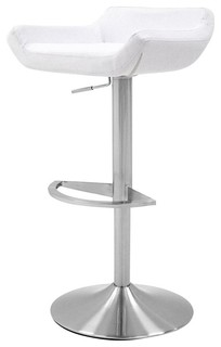 Ray Adjustable Swivel Armless Bar Stool