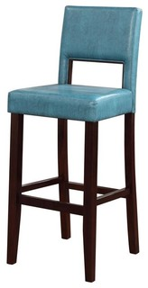 Vega Bar Stool in Blue