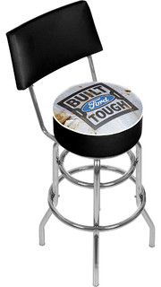 Ford Swivel Bar Stool With Back Built Ford Tough