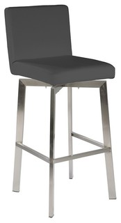 Moe x27 s Home Giro Counter Chair Gray