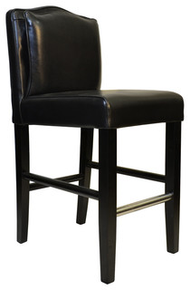 Pillowback Counterstool Black