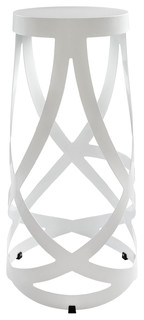 Ribbon Stool in White
