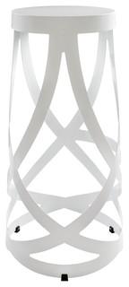 Ribbon Stool in White