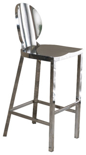 Ajay Stainless Steel Bar Stool 29 25 quot