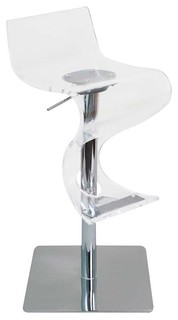 Viva Bar Stool Clear