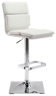 ZUO Use 24 4 quot Counter Stool White