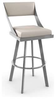 Amisco Fame Swivel Barstool 41468 30 quot Counter Height