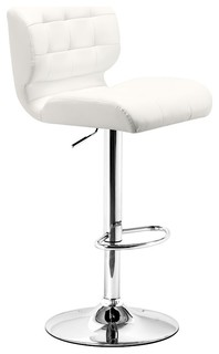 Zuo Modern Formula Bar Chair White 300217