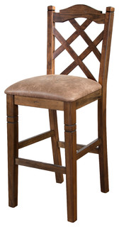 Savannah Double Crossback Barstool 30 quot