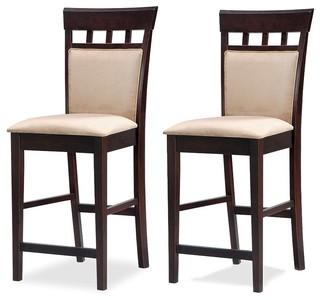 Coaster Fine Furniture Mixand Match Panel Bar Stools Set of 2